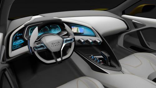 Concept Car Interior | 2016